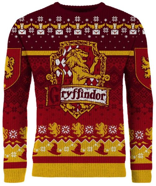Harry Potter: Ten Gifts To Gryffindor Ugly Christmas Sweater/Jumper