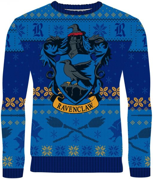 Harry Potter: Rockin' Ravenclaw Knitted Christmas Sweater Merchoid
