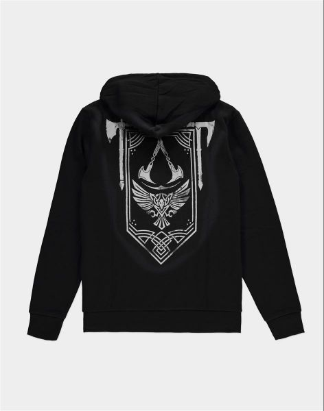 Assassin's Creed Valhalla: Stake Your Claim Banner Hoodie - Merchoid