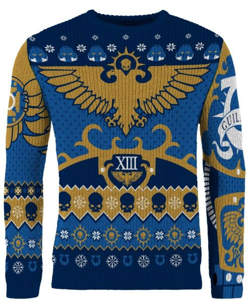 Warhammer 40,000: Imperial Tidings Ugly Christmas Sweater/Jumper