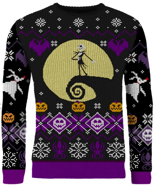 Buy Your Nightmare Before Christmas Knitted Christmas Sweater Free Shipping Merchoid Official merchandise for the mr. nightmare before christmas what s this knitted christmas sweater merchoid