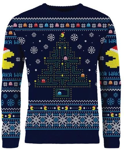 Pac-Man: Ghosts Of Christmas Past Knitted Christmas Sweater - Merchoid