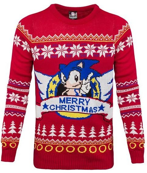 Sonic the Hedgehog: Unisex Ugly Christmas Sweater/Jumper