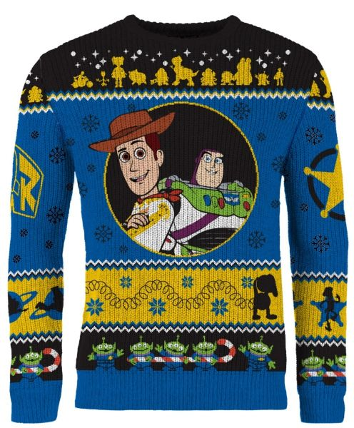 Toy Story: To Festivities And Beyond Knitted Christmas Sweater Merchoid