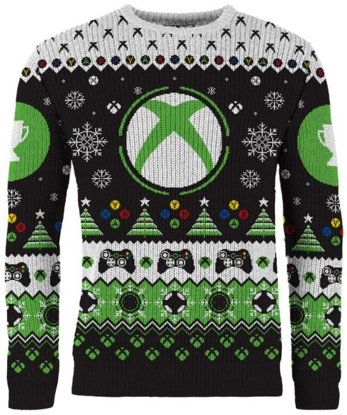 Xbox: Christmas Unlocked Knitted Sweater - Merchoid