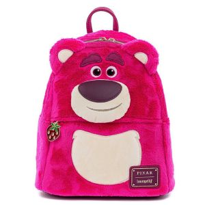 Toy Story 3: Lotso Cosplay Sherpa Loungefly Mini Backpack