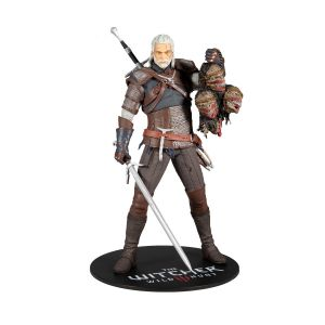 The Witcher 3: Geralt Of Rivia 12 inch Statue