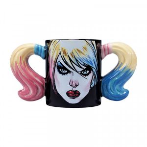 Harley Quinn: Love Stinks Shaped Mug