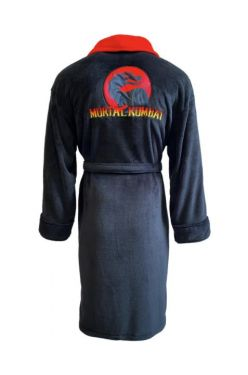 Mortal Kombat: Dragon Logo Men's Bathrobe Preorder