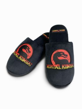 Mortal Kombat: Dragon Logo Slippers Preorder