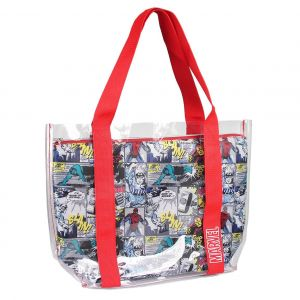 Marvel: Hermetically Sealed Comic Strip Tote Bag