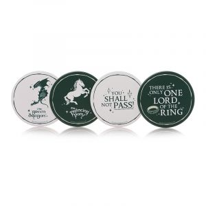 Lord Of The Rings: Pub Crawl Coaster Set