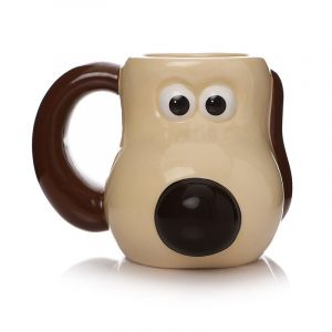 Wallace And Gromit: A Grand Night In Gromit Shaped Mug Preorder