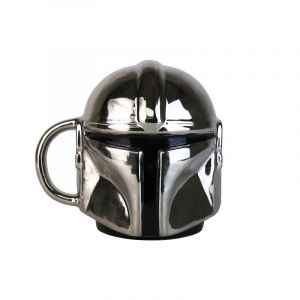 Star Wars: The Mandalorian 'I Can Bring You In Warm' Electroplated Shaped Mug Preorder