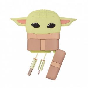 Star Wars: The Mandalorian Baby Yoda/The Child Retractable Charging Cable