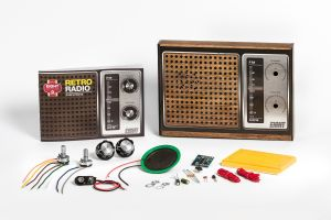 EIGHT Retro Radio Electronic Kit