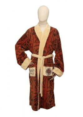 Harry Potter: Mischief Maker Marauder's Map Bathrobe
