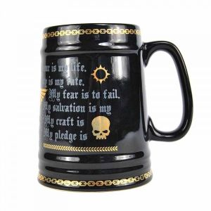Warhammer 40k: Space Marine Pledge Large Tankard
