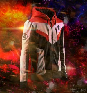 Avengers Endgame: Advanced Tech Men's Quantum Hoodie