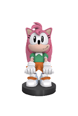 Sonic The Hedgehog: Amy Rose 8 inch Cable Guy Phone and Controller Holder Preorder