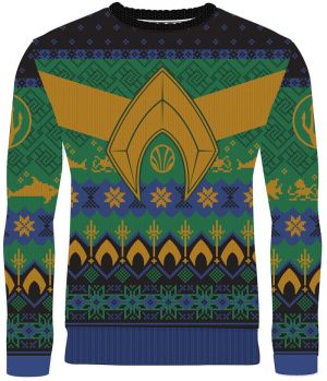Aquaman: Atlantean Tidings Christmas Sweater Jumper