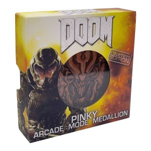 Doom: Pinky 'Level Up' Limited Edition Medallion Preorder