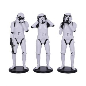 Three Wise Stormtrooper Figurines Preorder