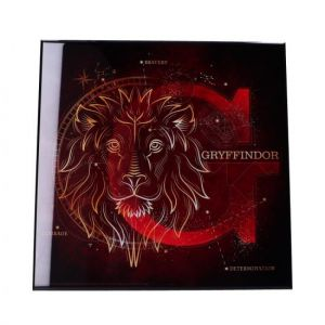 Harry Potter: Gryffindor Crystal Clear Glass Picture Preorder
