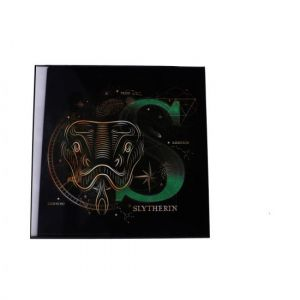 Harry Potter: Slytherin Crystal Clear Glass Picture Preorder
