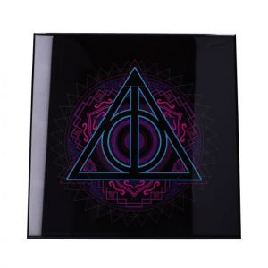 Harry Potter: Deathly Hallows Crystal Clear Glass Picture