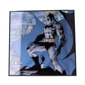 Batman: Dark Knight Crystal Clear Glass Picture Preorder