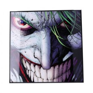 Batman: Joker Crystal Clear Glass Picture Preorder