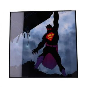 Superman: Man Of Steel Crystal Clear Glass Picture Preorder