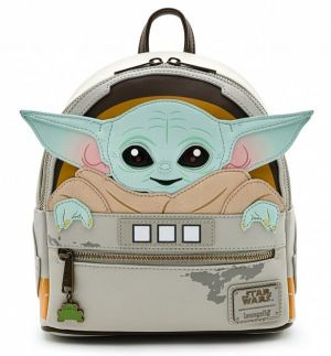 Star Wars: The Mandalorian The Child/Baby Yoda Cradle Loungefly Mini Backpack