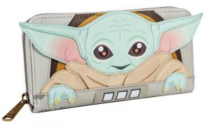 Star Wars: The Mandalorian The Child/Baby Yoda Cradle Loungefly Purse