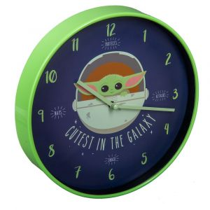 Star Wars: The Mandalorian The Child/Baby Yoda Cutest In The Galaxy Clock Preorder