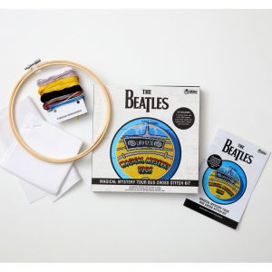 The Beatles: Magical Mystery Tour Bus Cross-Stitch Hoop Kit Preorder