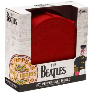 The Beatles: Sgt. Pepper's Lonely Hearts Club Band Drum Cake Mould Preorder