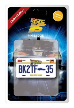 Back To The Future: 35th Anniversary Limited Edition Pin Badge