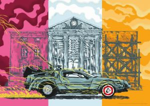 Back To The Future: Limited Edition Print