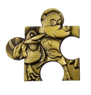 Banjo Kazooie: Limited Edition Replica Jigsaw Piece