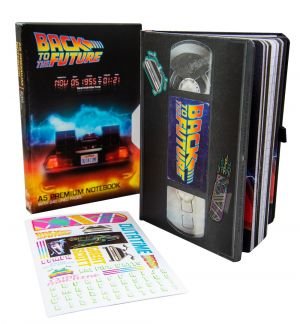 Back To The Future: VHS A5 Notebook