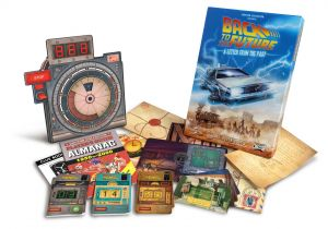 Back To The Future: A Letter From The Past Escape Room Game Preorder