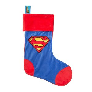 Superman Luxury 19 inch Christmas Stocking