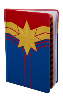 Captain Marvel: Literary Legend Notebook