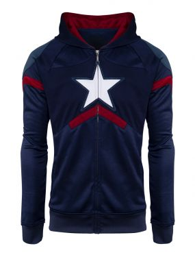 Captain America: I Could Wear This All Day Premium Hoodie