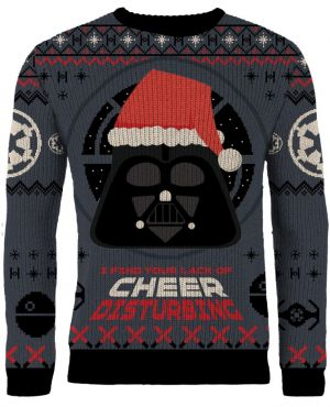 Star Wars: I Find Your Lack Of Cheer Disturbing Knitted Christmas Sweater