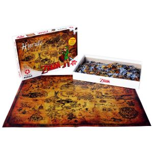 Legend of Zelda: Hyrule Field 500pc Puzzle