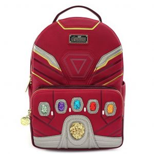 Avengers Endgame: One In 14 Million Iron Man Power Gauntlet Loungefly Mini Backpack