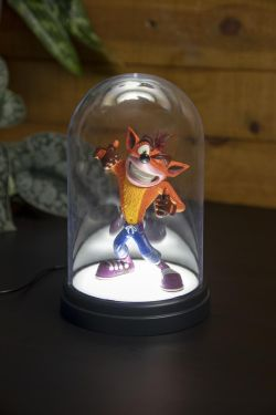 Crash Bandicoot: Prime Specimen Bell Jar Light